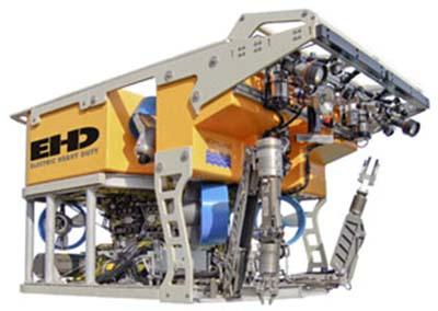 >->海洋工程测量系统 ->水下遥控机器人rov